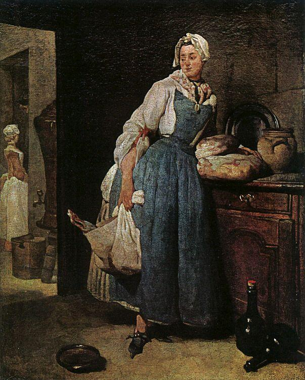 Jean Baptiste Simeon Chardin The Return from Market oil painting image