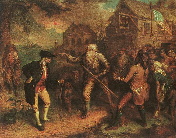 John Quidor The Return of Rip van Winkle Sweden oil painting art