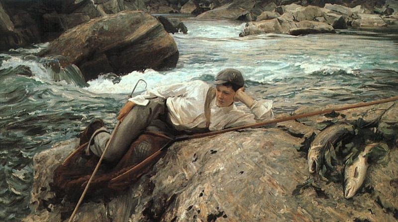John Singer Sargent On His Holidays Sweden oil painting art