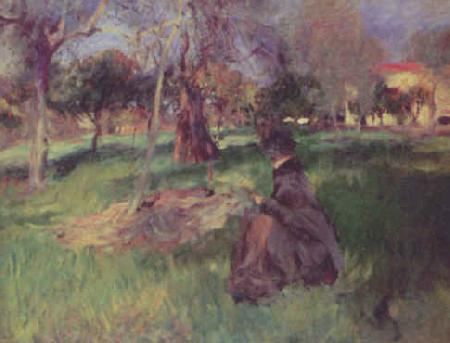 John Singer Sargent In the Orchard oil painting image