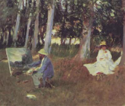 John Singer Sargent Monet Painting Sweden oil painting art