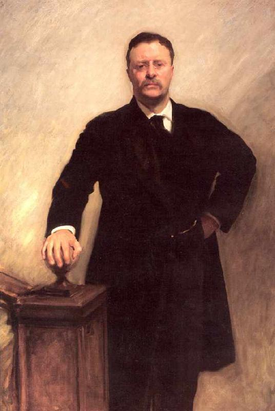 John Singer Sargent President Theodore Roosevelt oil painting image