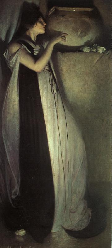 John White Alexander Isabella and the Pot of Basil oil painting image