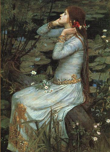 John William Waterhouse Ophelia oil painting image