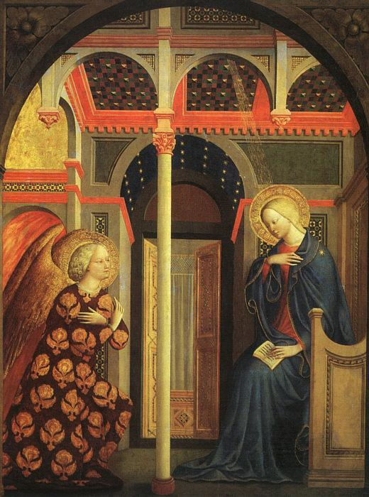 MASOLINO da Panicale The Annunciation syy oil painting image