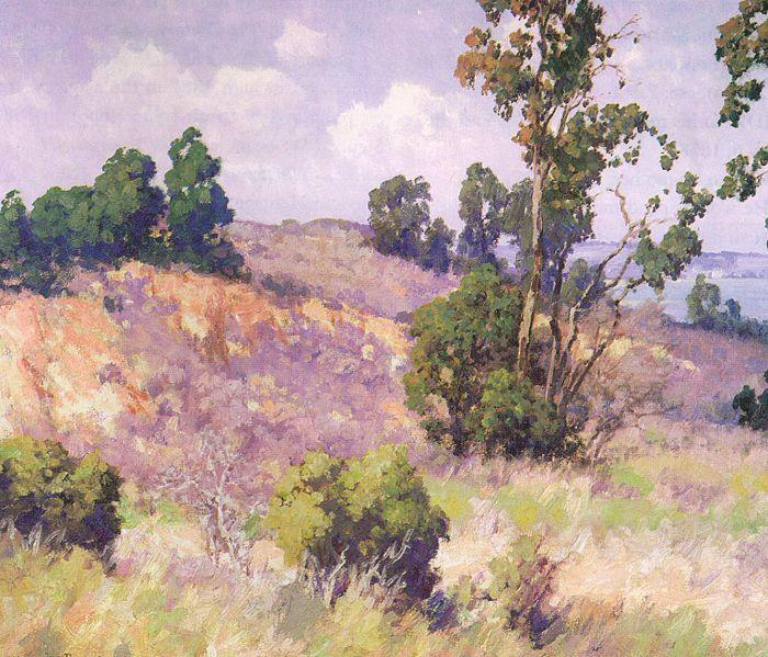 Maurice Braun Point Loma Hillside oil painting image