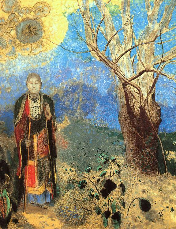 Odilon Redon The Buddha Sweden oil painting art