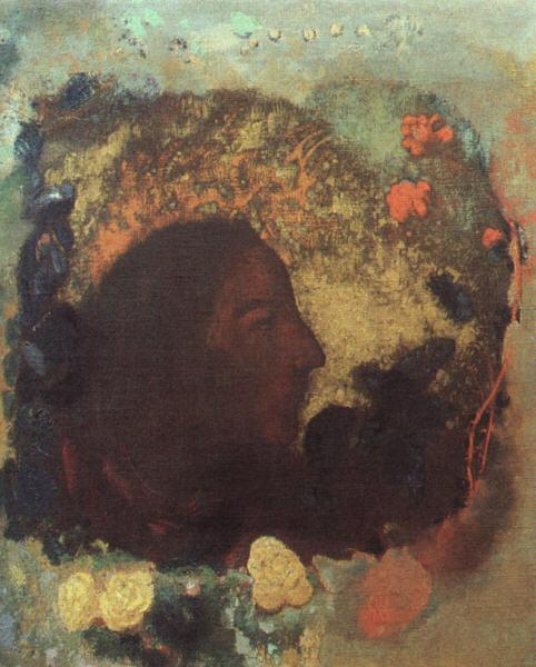 Odilon Redon Portrait of Paul Gauguin Sweden oil painting art