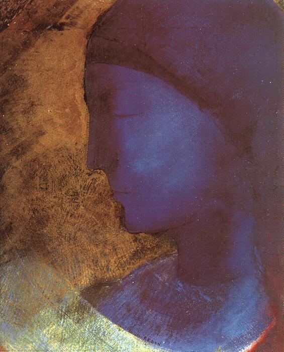 Odilon Redon The Golden Cell Sweden oil painting art