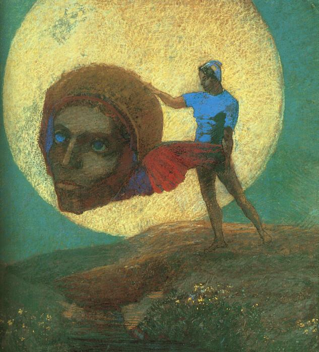 Odilon Redon The Fall of Icarus Sweden oil painting art