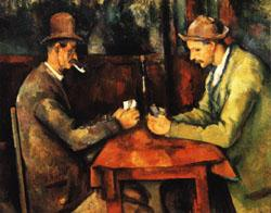Paul Cezanne The Card Players oil painting image
