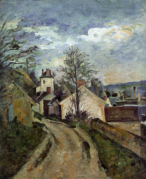 Paul Cezanne The House of Dr Gachet in Auvers oil painting image