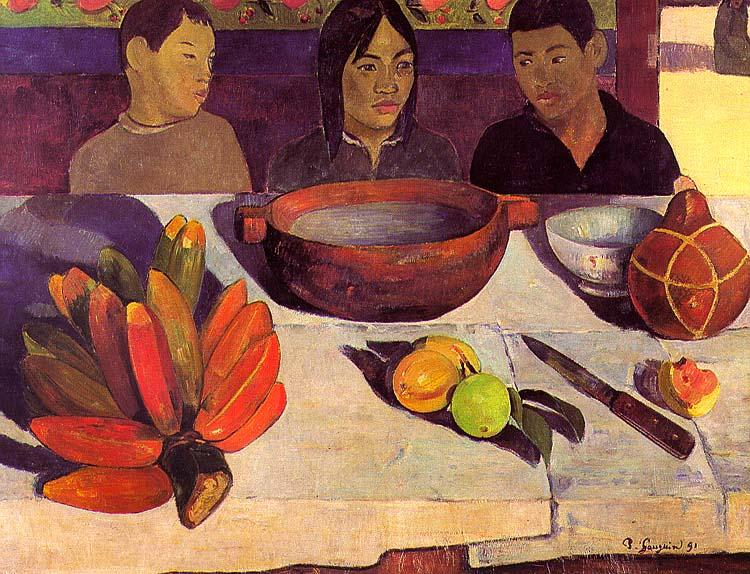 Paul Gauguin The Meal oil painting image