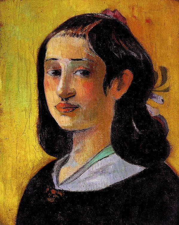 Paul Gauguin The Artist's Mother 1 oil painting image