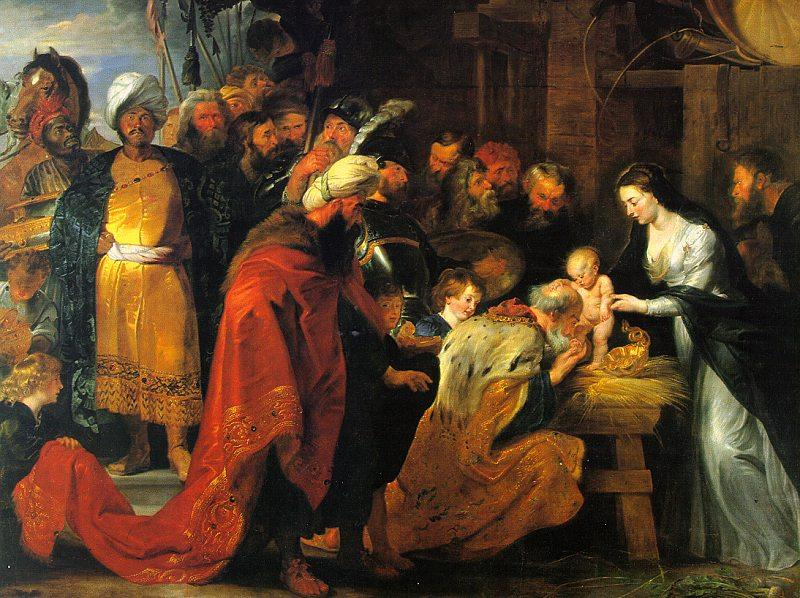 Peter Paul Rubens The Adoration of the Magi Sweden oil painting art
