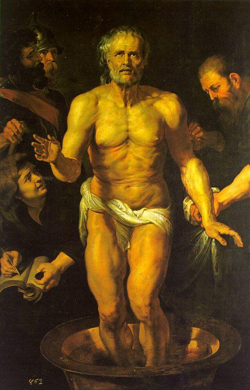 Peter Paul Rubens The Death of Seneca oil painting image