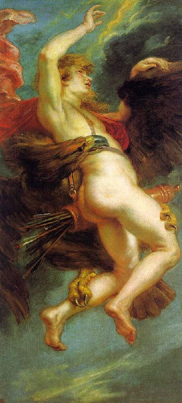 Peter Paul Rubens The Abduction of Ganymede Sweden oil painting art