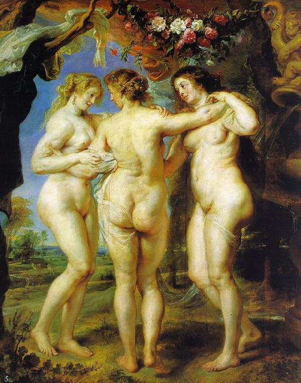 Peter Paul Rubens The Three Graces Sweden oil painting art