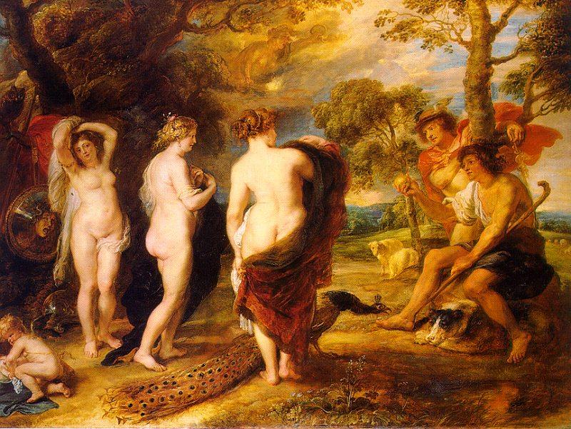 Peter Paul Rubens The Judgment of Paris Sweden oil painting art