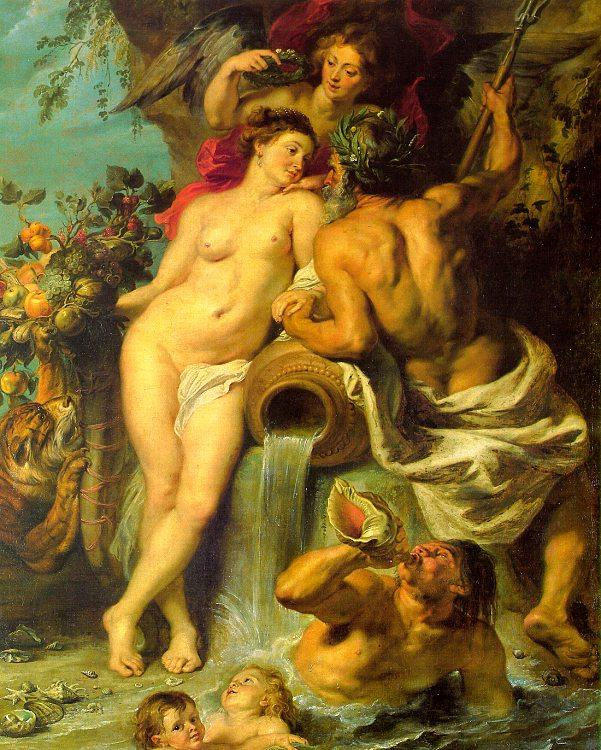 Peter Paul Rubens The Union of Earth and Water Sweden oil painting art