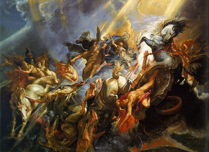 Peter Paul Rubens The Fall of Phaeton Sweden oil painting art