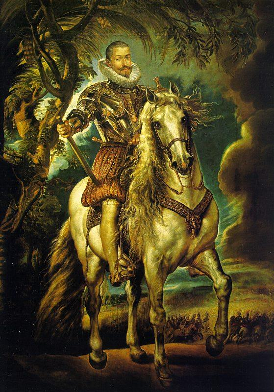 Peter Paul Rubens Equestrian Portrait of the Duke of Lerma Sweden oil painting art