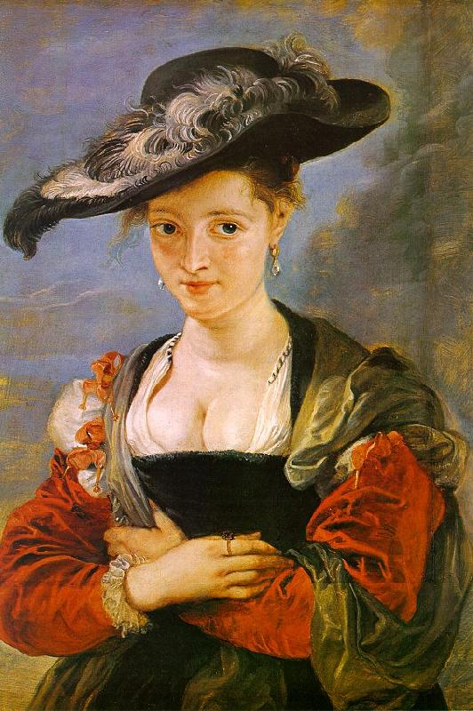 Peter Paul Rubens The Straw Hat Sweden oil painting art