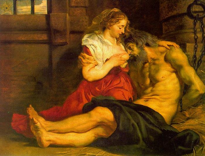 Peter Paul Rubens Roman Charity Sweden oil painting art