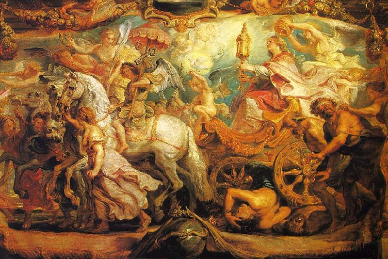 Peter Paul Rubens The Triumph of the Church Sweden oil painting art