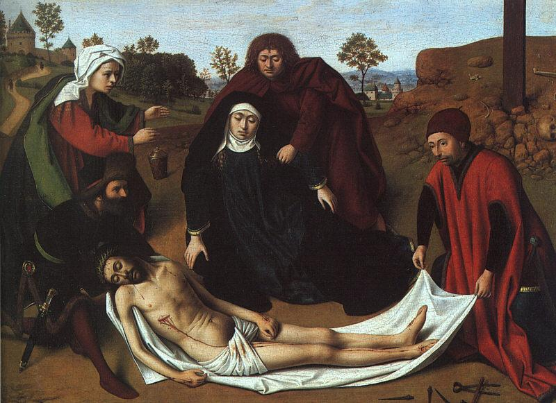 Petrus Christus The Lamentation oil painting image