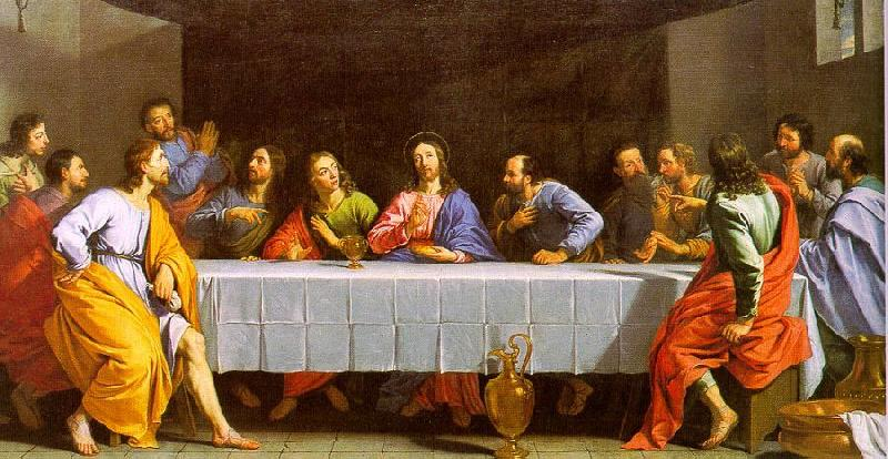 Philippe de Champaigne The Last Supper 2 oil painting image
