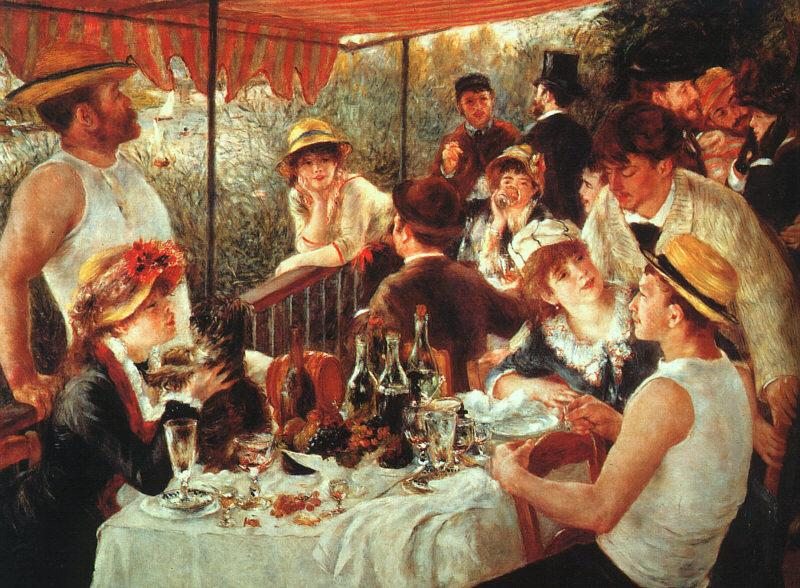 Pierre Renoir Luncheon of the Boating Party Sweden oil painting art