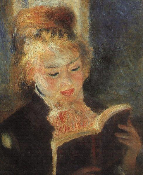 Pierre Renoir Woman Reading  fff Sweden oil painting art