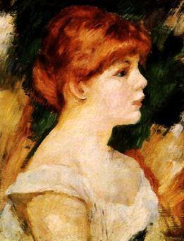 Pierre Renoir Suzanne Valadon Sweden oil painting art