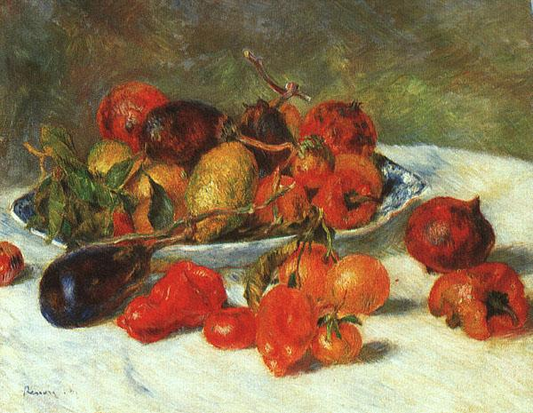 Pierre Renoir Fruits from the Midi Sweden oil painting art