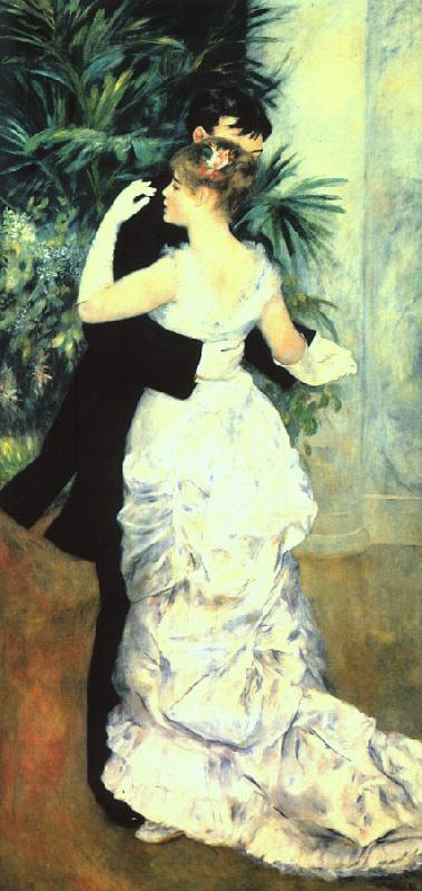 Pierre Renoir Dance in the Town Sweden oil painting art