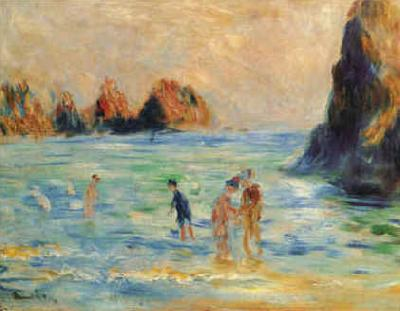 Pierre Renoir Moulin Huet Bay, Guernsey oil painting image