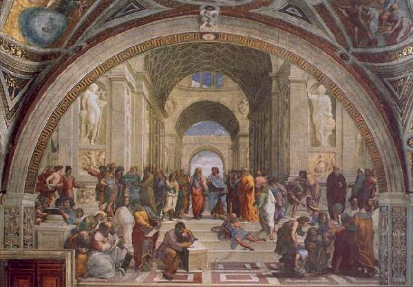 Raphael The School of Athens Sweden oil painting art