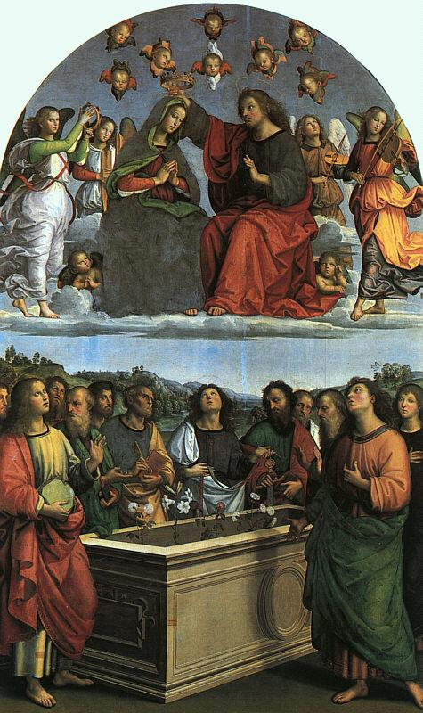 Raphael Coronation of the Virgin Sweden oil painting art