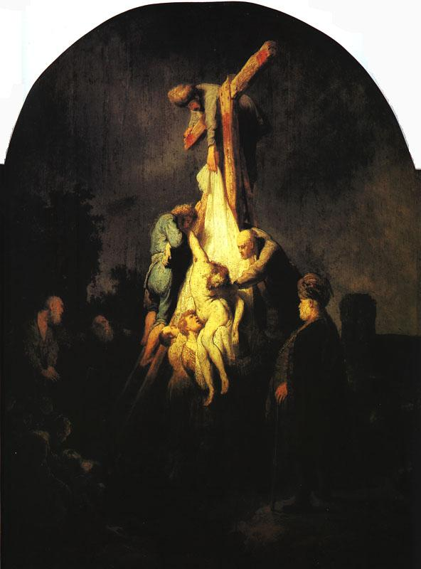 Rembrandt The Descent from the Cross Sweden oil painting art