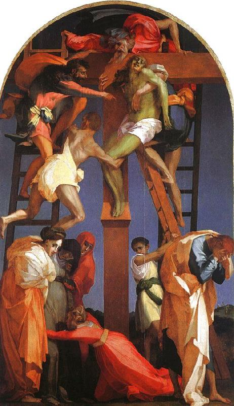 Rosso Fiorentino Deposition from the Cross Sweden oil painting art