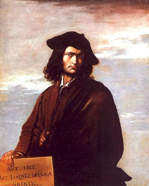 Salvator Rosa Self Portrait bbb Sweden oil painting art