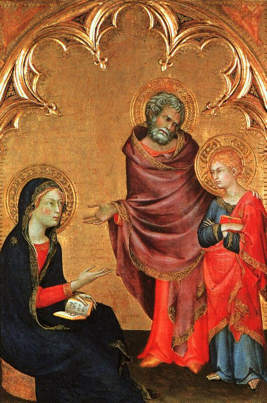Simone Martini Christ Discovered in the Temple oil painting image