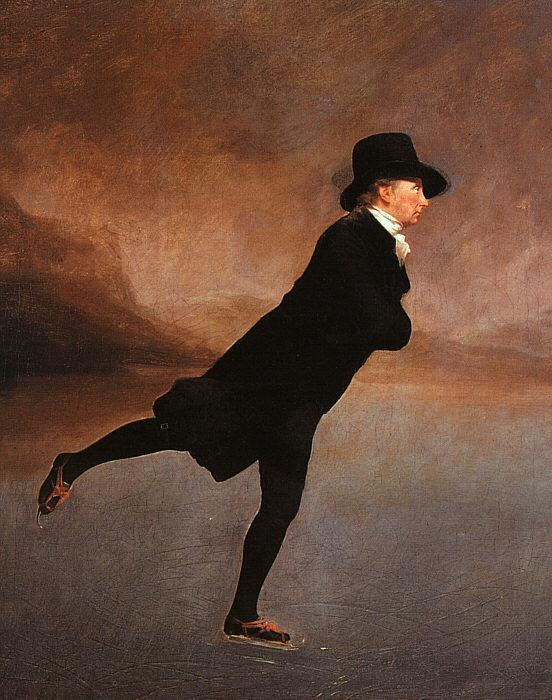 Sir Henry Raeburn The Reverend Robert Walker Skating Sweden oil painting art