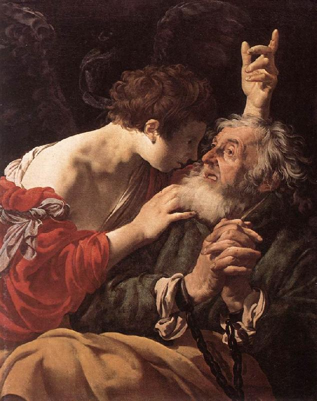 TERBRUGGHEN, Hendrick The Deliverance of St Peter  at oil painting image