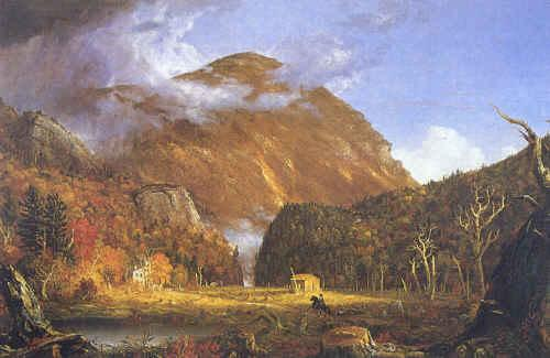 Thomas Cole Notch of White Mountins Sweden oil painting art