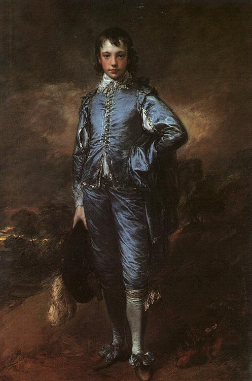 Thomas Gainsborough Portrait of Jonathan Buttall oil painting image