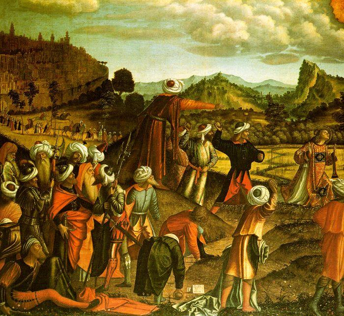 Vittore Carpaccio The Stoning of Saint Stephen oil painting image