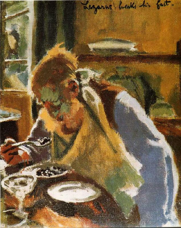 Walter Sickert Lazurus Breaks His Fast Sweden oil painting art