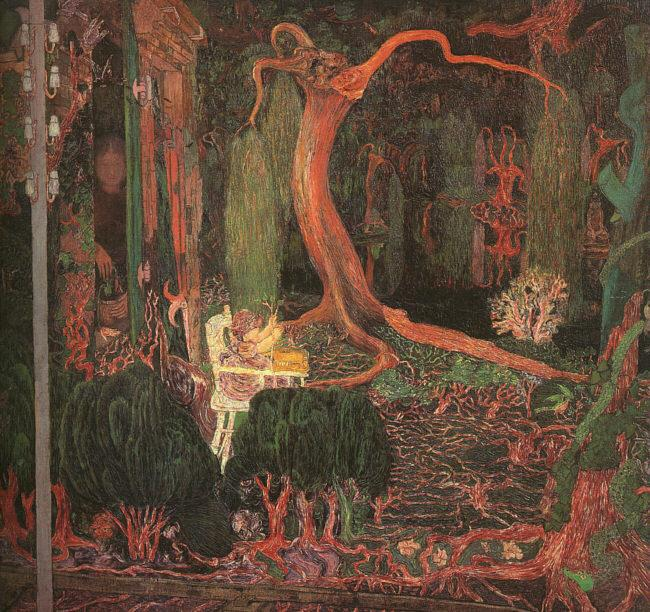 Jan Toorop Desire and Gratification(The Appeasing) oil painting picture